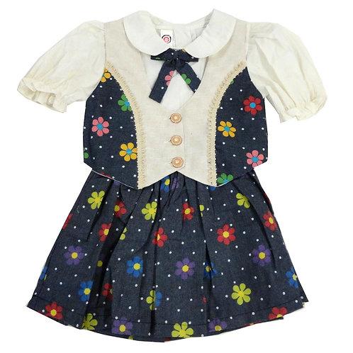 1-324  Girls' Dress set