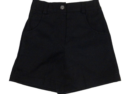 #42 Girls' Black Shorts