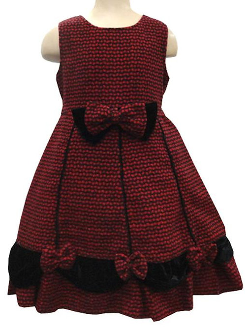 63-6339 Girls' Holiday Dress