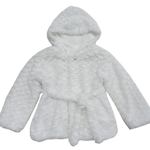 24-6091 Girls'(4-10) Fur Jacket
