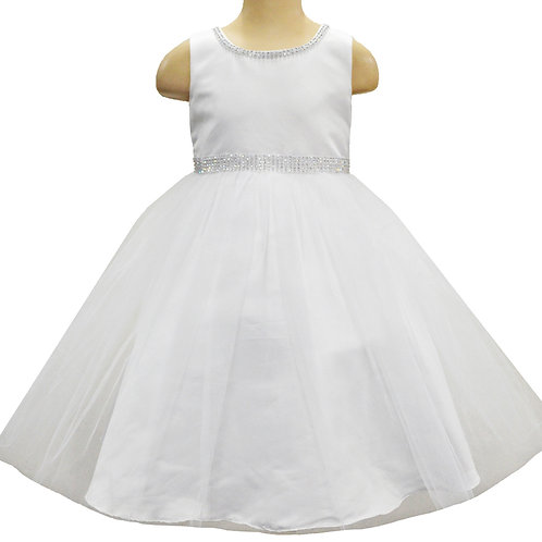 66-302 Girls' Beaded Formal Dress