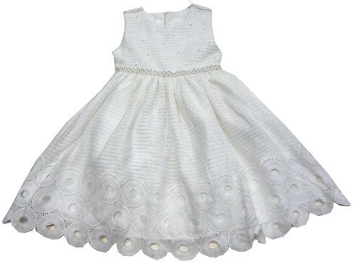 72-107T Toddler Girls'  Crochet   Dress
