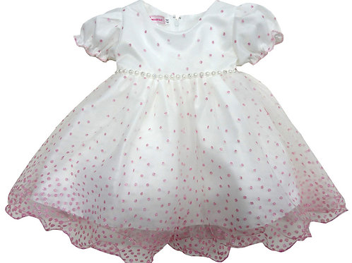 67-854 Infants'  Tulle  Embroidered  Dress