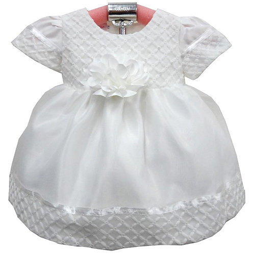 66-301T Toddler Girls' Organza Printed Dress