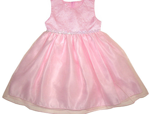 94-408 Infants' Organza / Printed  Dress