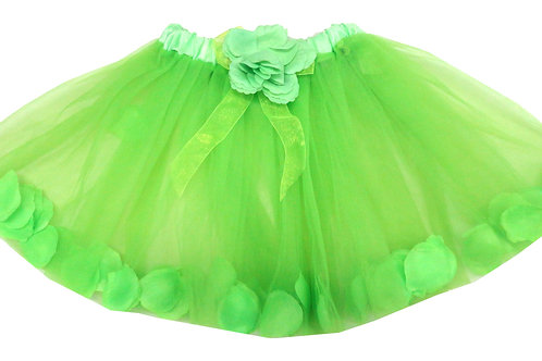 T503  Girls'  Tutu with Flower