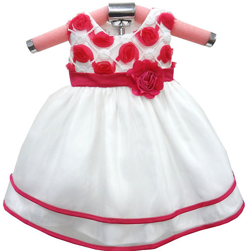 65-424T Toddlers' Embroidered Dress