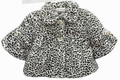 24-194 Girls'(4-10) Fur Jacket