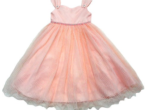 84-612 Infants' Tulle  Embroidered  Dress