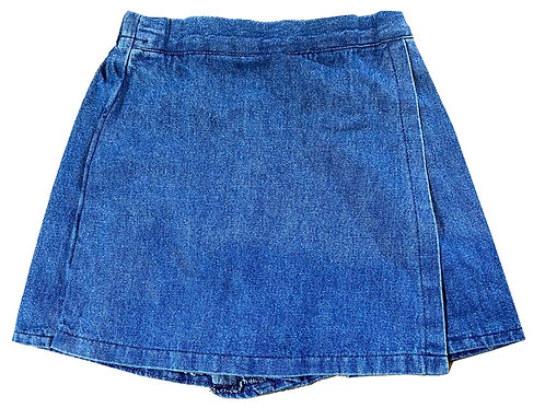 #560 Girls' Denim Skirt Shorts