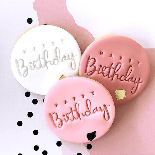 Happy Birthday Cookie Box
