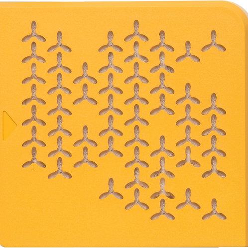 Orange Easy Flow Face Plate