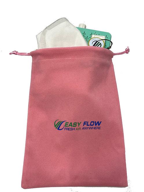 Easy Flow Pink Travel Bag