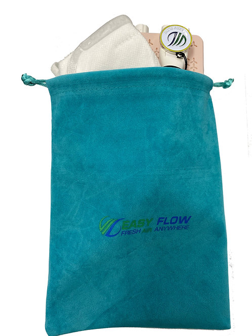 Easy Flow Blue Travel Bag