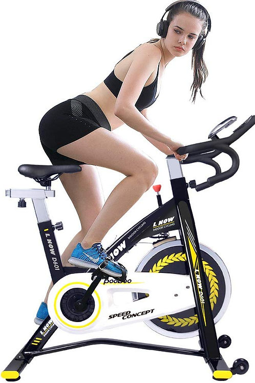 pooboo Indoor Cycling Bike Trainer, Professional Exercise Bike