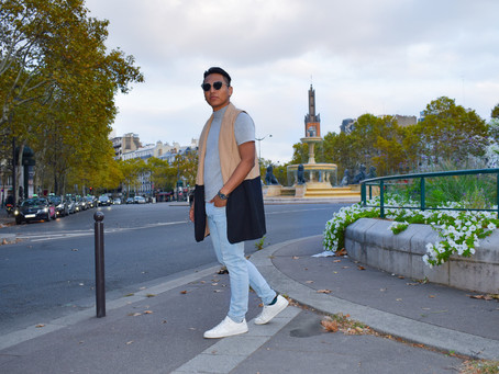 #PFW : Day 1 - Easy & Comfortable With A Statement Piece