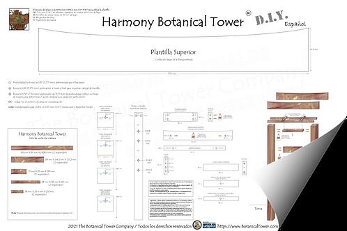 Harmony Botanical Tower DIY Blueprint / Spanish