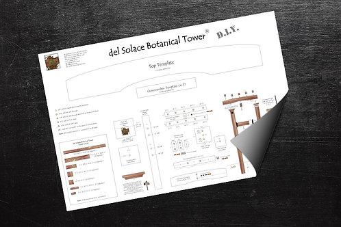 del Solace Botanical Tower DIY kit