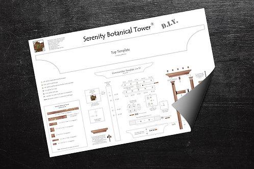Serenity Botanical Tower DIY kit