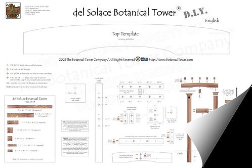 del Solace Botanical Tower DIY Blueprint / English