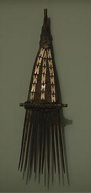 peigne ile salomon art tribal