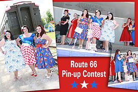 Route 66 PatriotFest Pin Up Contest