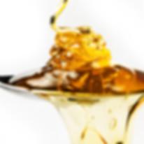 Lepel met Pandhy's suiker voor ontharen
