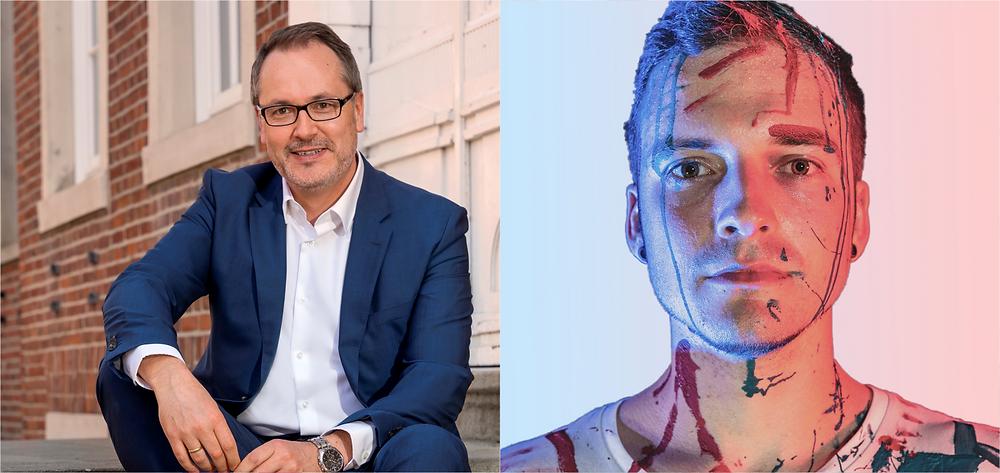 Helmut Knurbein und David Beta
