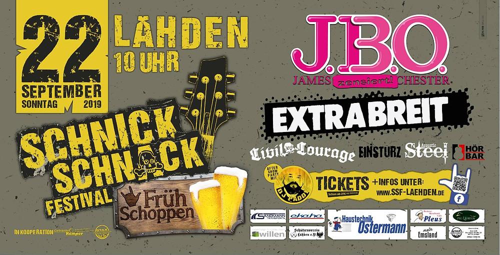 Schnick Schnack Festival am 22.09.2019 in Lähden
