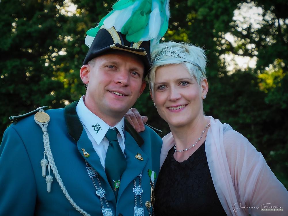 Königspaar Frank und Ruth Geers | Foto: Johannes Fichtner