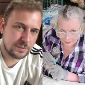 Marcel Ivan Behrends und Lulu Wübben Kühn