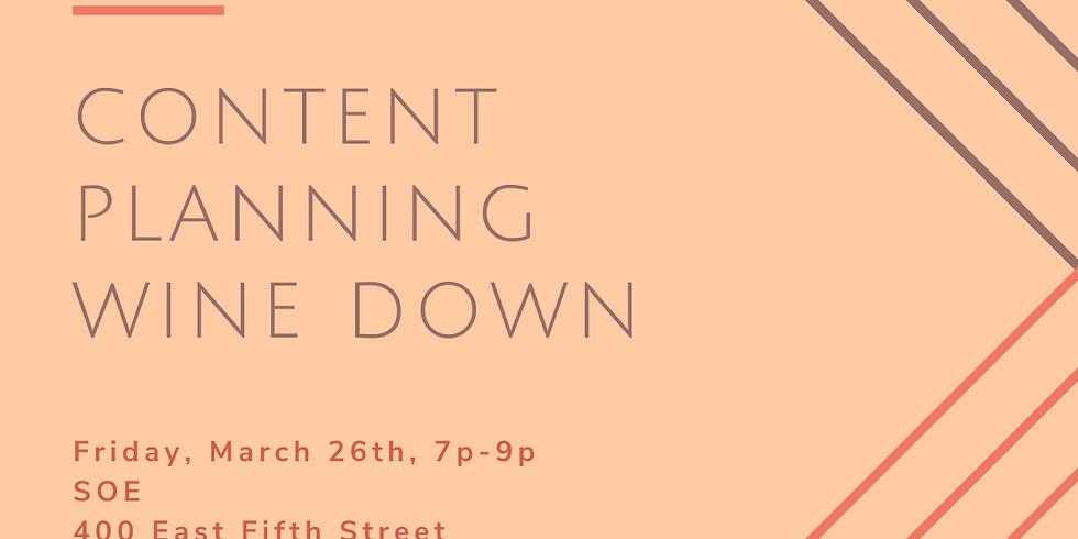 April Content Planning Party