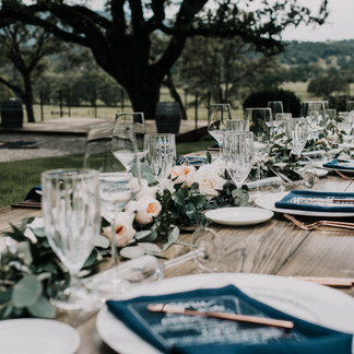 BOHO OUTDOOR WEDDING TABLE DECOR