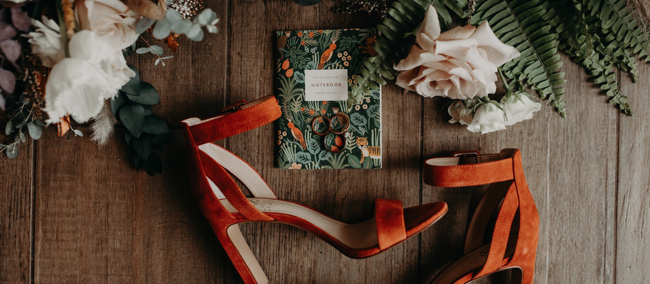 Romantic Wedding Florals with a Pop of Boho