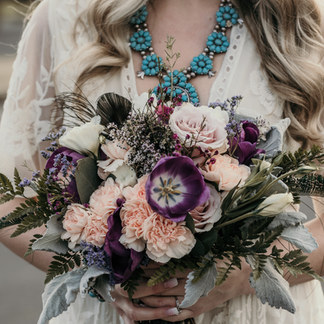 BOHO BRIDAL BOUQUET