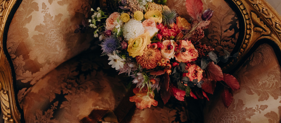 Dutch Painting Inspired Wedding Florals