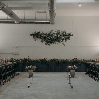 INDUSTRIAL MOODY WEDDING IN NORCAL