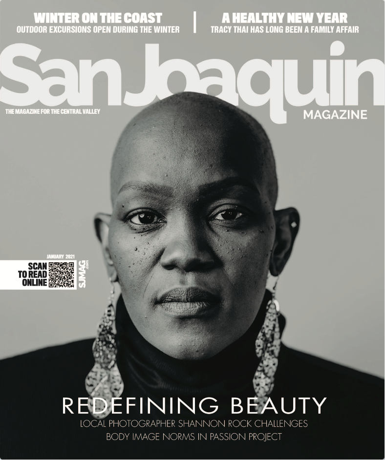 San Joaquin Magazine Cover Redefining Beauty Project