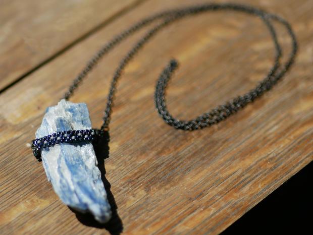 4 blue kyanite beaded necklace.jpg