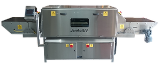 UV Disinfection Conveyor- reduces the risk of transferring microbiological contamination on the surface of foods
