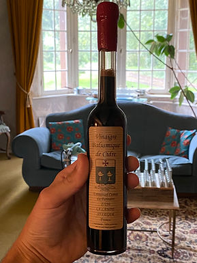 Vinaigre Balsamique de Cidre - Emmanuel Camut