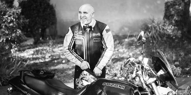 Marié à moto