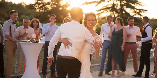 Coucher de soleil dansant