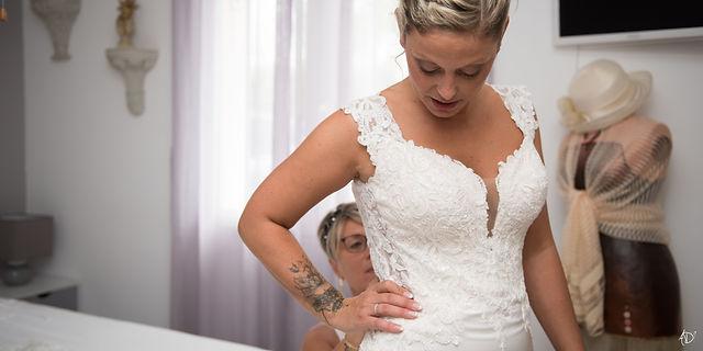 Préparatifs de la mariés