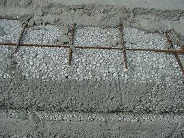 производство полистиролбетона, полистиролбетон монолитный