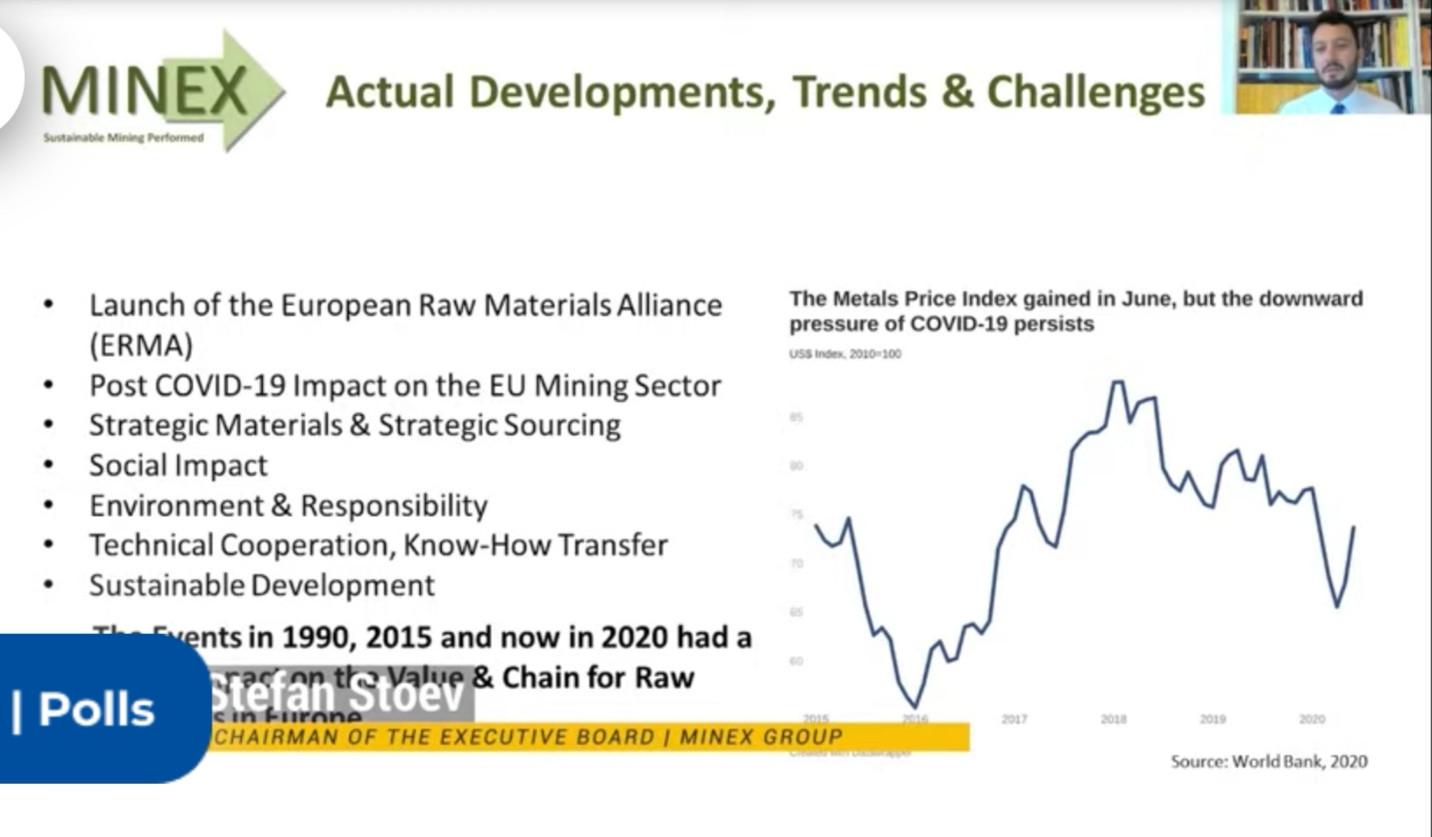 European Mining Convention, MINEX Presen