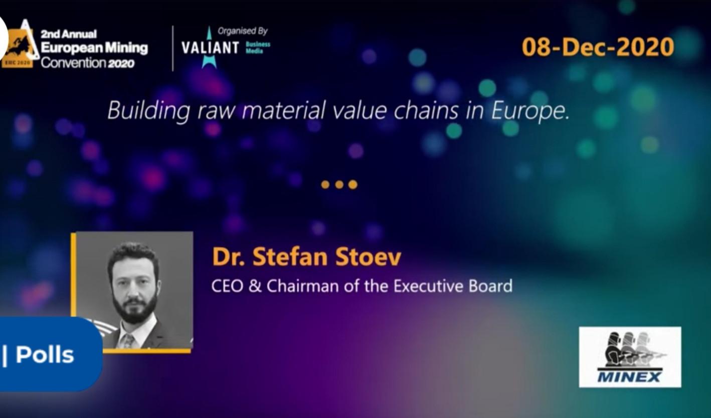 European Mining Convention, Dr. Stoev Ke