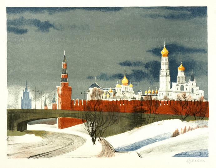 Бухман И.Г. 1970-80 ые Кремль