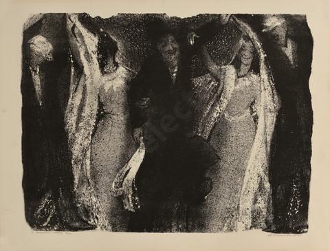 Каплан Анатолий Львович 1967 21 -Свадебный танец- 620х470 литография selectart.ru.jpg