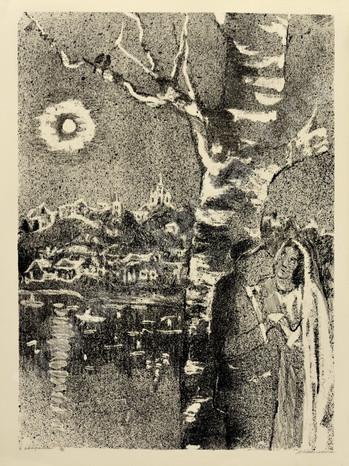 Каплан Анатолий Львович 1967 07 -Свидание- 620х470 литография selectart.ru.jpg